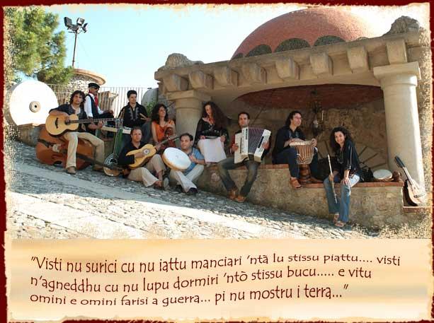 Gruppo siciliano di musica etnica e folk, Santa Lucia del Mela, San Filippo del Mela, Cattafi, Pace del Mela, Milazzo Barcellona, Messina;  Malanova, gruppo musicale popolare siciliano